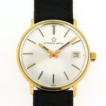 Eterna 34mm Automatic 1960 pre-owned Silver