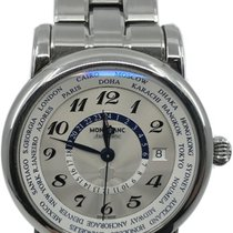 Montblanc Star Steel 42mm Silver Arabic numerals United States of America, Florida, Naples