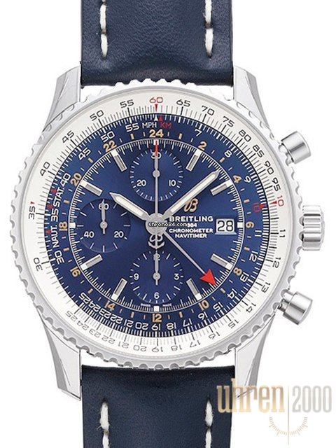 dc689f3ae Breitling Navitimer 1 Chronograph GMT 46 Ref. A24322121C2X1 for $5,312 for  sale from a Trusted Seller on Chrono24