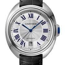 Cartier new Automatic 40mm Steel Sapphire crystal