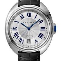 Cartier Clé de Cartier Acero 40mm Plata