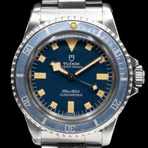 Tudor Submariner pre-owned 40mm Blue Date