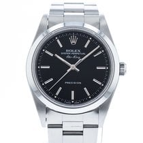 Rolex Air King Precision Steel 34mm Black United States of America, Georgia, Atlanta