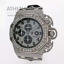Audemars Piguet White gold Automatic 48mmmm pre-owned Royal Oak Offshore Chronograph