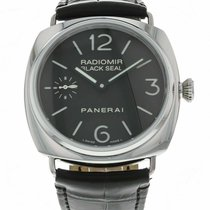 Panerai Radiomir Black Seal pre-owned 45mm Leather