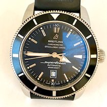Breitling Superocean Héritage 46 Steel 46mm Black No numerals