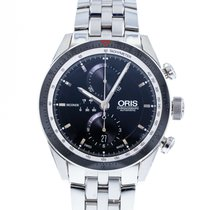 Oris Artix GT pre-owned 44mm Black Chronograph Date Steel