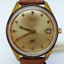 Longines Steel 37mm Gold No numerals