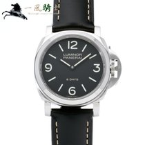 Panerai Luminor Base 8 Days Acier 44mm Noir