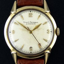 Girard Perregaux Gyromatic Vintage 10k Yellow Gold Filled...