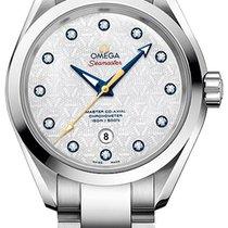 Omega Seamaster Aqua Terra Acier 34mm Nacre