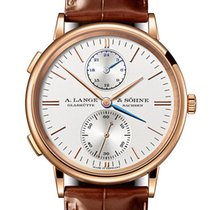 A. Lange & Söhne Saxonia 386.032 Unworn Rose gold 38.5mm Automatic United Kingdom