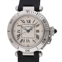 Cartier : Pasha :  W31007H2 :  Stainless Steel