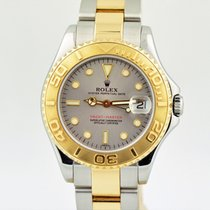Rolex Yacht-master Two Tone 18k Gold Stainless Steel 68623 35mm