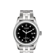 Tudor Glamour Date Steel 31mm Black No numerals