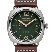 Panerai Radiomir 8 Days Tytan 45mm Zielony