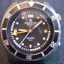 Aquastar Steel 43,3mm Automatic acquistar benthos pre-owned