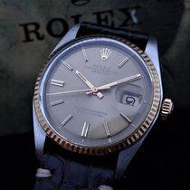 Rolex 36mm Automatisch 1974 tweedehands Datejust (Submodel) Zilver