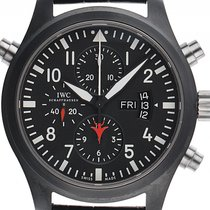 IWC Pilot Chronograph Top Gun używany 46mm Ceramika