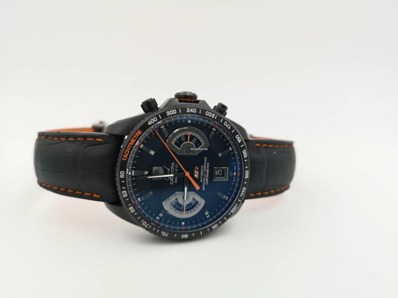 92a2c82655 Montres TAG Heuer Grand Carrera d'occasion | Acheter une montre TAG Heuer  Grand Carrera d'occasion