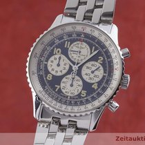 Breitling Navitimer Steel 38mm Blue