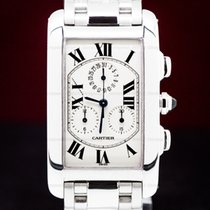 Cartier Tank Américaine White gold 45mm United States of America, Massachusetts, Boston