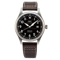 IWC Pilot Mark Steel 40mm Brown
