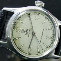 Tudor pre-owned Manual winding 33mm White Plexiglass