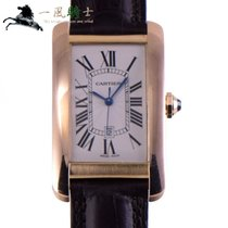 Cartier Tank Américaine Rose gold 45mm Silver United States of America, California, Los Angeles