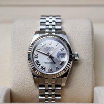 롤렉스 여성용 레이디-데이트저스트 26mm 자동 중고시계 시계 및 정품 박스