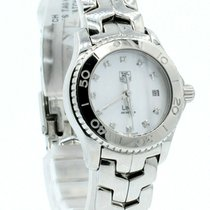 TAG Heuer Link Lady pre-owned 28mm Mother of pearl Date Steel