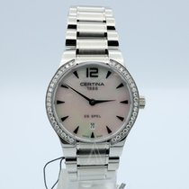 Certina DS Spel Lady Steel 30mm Mother of pearl