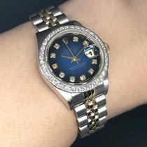 Rolex Datejust Gold/Steel 26mm Blue No numerals Thailand, Bangkok