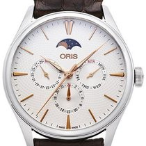 Oris Artelier Complication Steel 40.5mm Silver