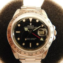 Rolex Explorer II 16550 Spider Rail Dial 1984 pre-owned