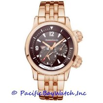 Jaeger-LeCoultre Master Compressor Geographic Rose gold 42mm Brown United States of America, California, Newport Beach