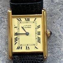Cartier Silver 23mm Quartz 590005 pre-owned
