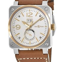 Bell & Ross BR 03-90 Grande Date et Reserve de Marche new Automatic Watch with original box BR0390-BICOLOR