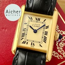 Cartier Tank (submodel) Good Steel 20mm Manual winding