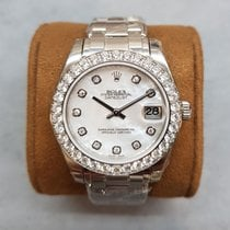 Rolex Pearlmaster White gold 34mm Mother of pearl No numerals Australia, Box Hill