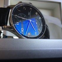 IWC Portuguese Chronograph Acier 41mm Noir France, Mérignac