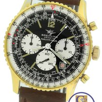 Breitling Navitimer Twin Jet Panda Gold-Plated Stainless 7806...