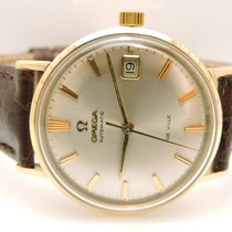 Omega Seamaster DeVille pre-owned 35mm Yellow gold
