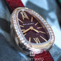 Bulgari Red gold Quartz new Serpenti