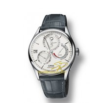 Oris CULTURA ARTELIER CALIBRE 112 Steel-Silver Dial-Grey Leather