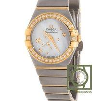 Omega Constellation Quartz Rose gold 24mm Mother of pearl