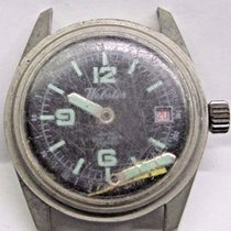 Antique Gents Webster Date Stainless Steel Wrist Watch 200...