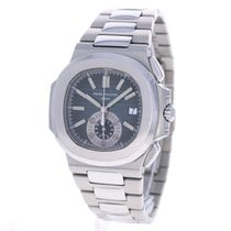 Patek Philippe Nautilus Chronograph Stainless Steel Blue 5980...
