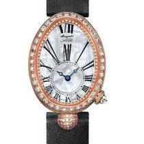 Breguet Women's watch Reine de Naples 24.95mm Automatic new Watch with original box and original papers 2018