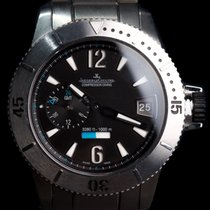Jaeger-LeCoultre Master GMT Compressor Diving - Box & inhouse...